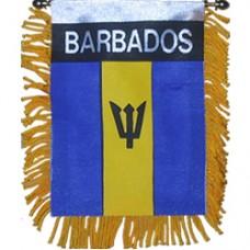 Barbados flag Mini Banner